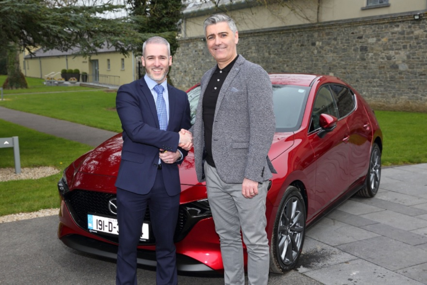 All New Mazda 3 Now On Sale in Ireland