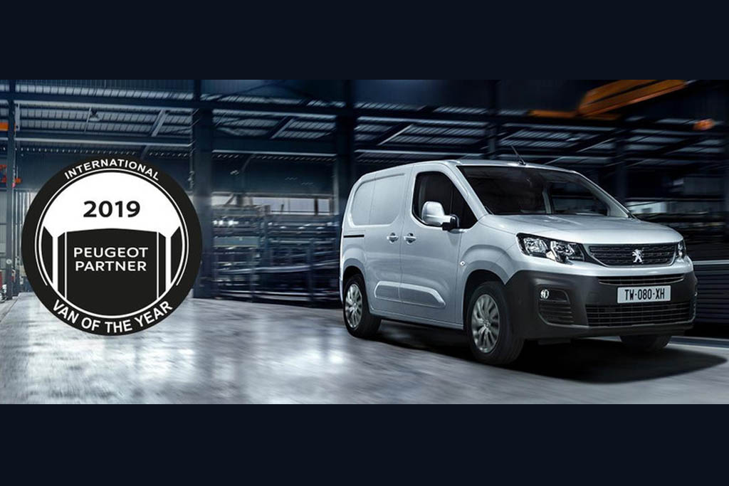 33e14035c89 New PEUGEOT Partner is International Van of the Year 2019