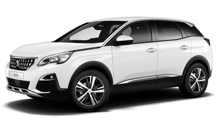 New Peugeot 3008 SUV For Sale South Dublin | Sandyford
